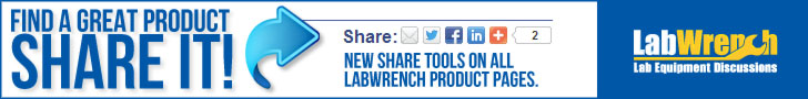 New Share Tools On All LabWrench Product Pages