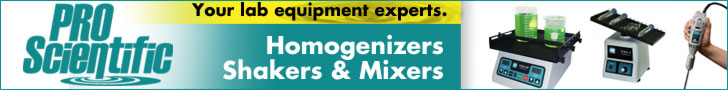 PRO Scientific - Homogenizers, Mixers, Shakers, Stirrers and more